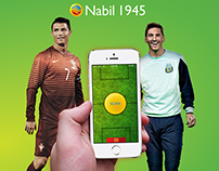 Nabil 1945 : World Cup Promo App