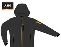 AEG Heated Work Jacket