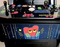 """Ms. Manifold"" Custom Arcade Cabinet"