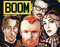 BOOM MAGAZINE ASIA covers