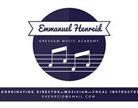 Branding: Emmanuel Henreid