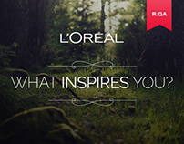L'Oreal LinkedIN Campaign - Madeleine Diaries
