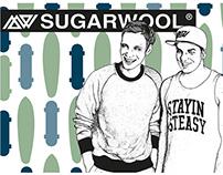 """Sugarwool"" Client Work 2014 I Liz Bean"
