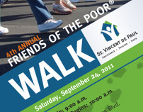 St. Vincent de Paul, Dayton — 2011 Walk for the Poor
