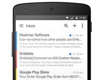 Android L Mail