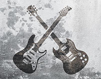 Momentum Guitar Illustration