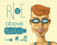 Rise above plastics bag