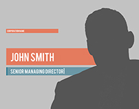 After Effects Template-Talking Head Graphics