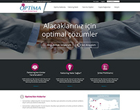 Optima Faktoring Site Redesign