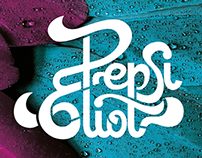 Logotype for Pepsi Eliot