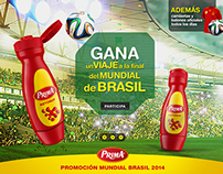 Prima World Cup Promo Circuit  - Web Layout Design