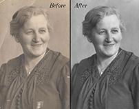 Photo editing and restoration