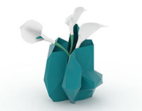 Smashed vase