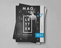Letter Magazine / Brochure Mock-up II