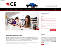 OCE STUDY ABROAD(Responsive Html Website)