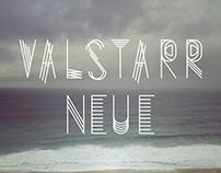 Valstarr Neue Type