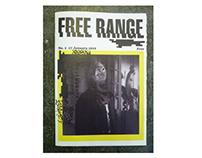 FREE RANGE - experimental magazine design