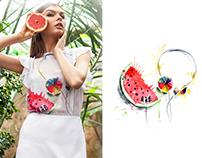 Summer. Illustrations for SS15 AnnaIanova.