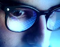 Retrofuturistic PS5 spot