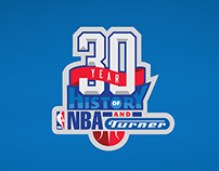 30 Years of Turner Broadcasting and the NBA Logo