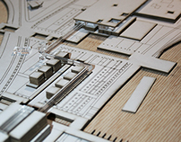 Palic Spa and Hotel Complex scale model-making off