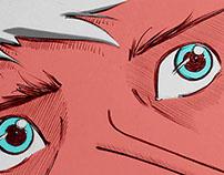 "Short Comic - ""The awakening"" - for Colagens Boémias"