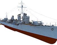 IJN Destroyer Kagero 1940
