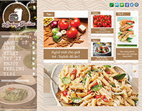 Loving Cusine website