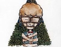 "KAIZEN illustration titled "" silence """