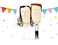 Invitaciones de Casamiento // Bren y Vidu