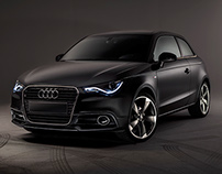 Audi A1 Studio photoshoot