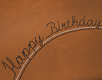 Red Wing Shoes Corporate Birthday Card