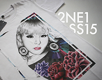 2NE1 SS15 T-Shirt collection