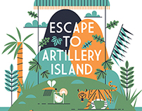Escape to Artillery Island