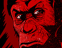 Dawn of the Planet of the Apes Illustration