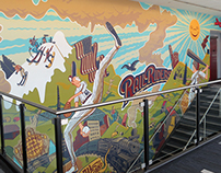 Railriders Mural at PNC Field