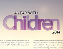 A Year with Children 2014 Exhibition Graphics