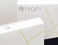 Niani Cosmetics Branding