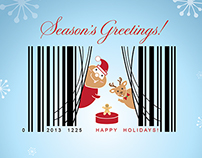 Winning Design: 2013 NRF Holiday Card Contest
