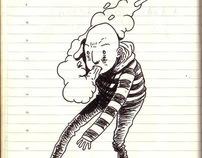 Random drawings from my sketchbook