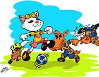 App Soccer videogame