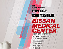 Bissan Medical Center Poster Designs