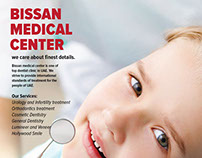 Bissan Medical Center Leaflet Design