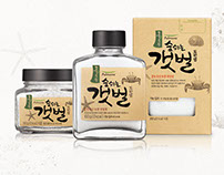 Natural Mudflat Salt