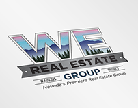 WE Real Estate Group Logo Animation