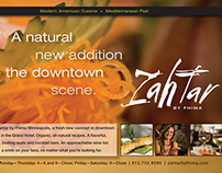 Zahtar Print Ad, Minnesota Monthly
