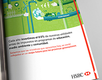 Magazine AD Sustainability HSBC México