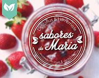 Sabores da Maria - Concept, Marketing & Branding