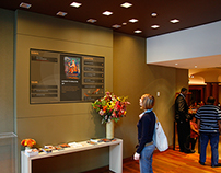 Rubin Museum of Art - Dynamic Lobby Sign