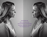 Alzheimer's Mirrors/20 Years Campaign